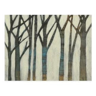 Birch Line I Postcard