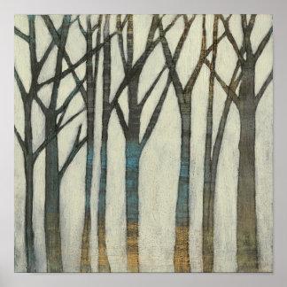 Birch Line I Poster
