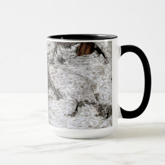Birch Tree Bark - Coffee Mug
