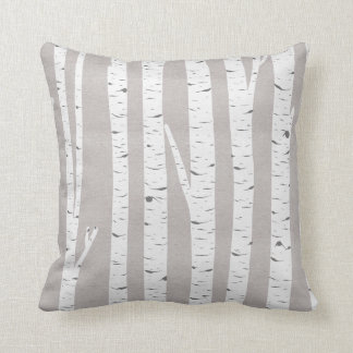 Birch Tree Rustic Woodland Cushion