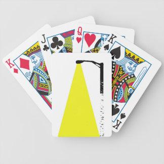 birch tree street lamp poker cards