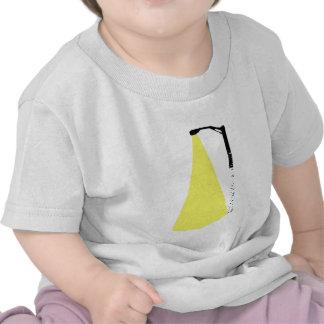 birch tree street lamp t-shirt