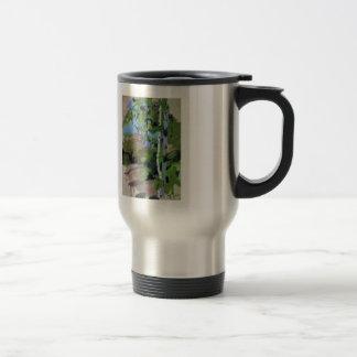 Birch trees. Sunny day. by Ilya Repin Coffee Mugs