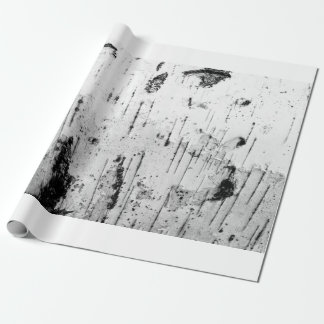 Birch trunk wrapping paper