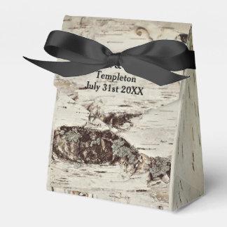 Birch Wood Wedding Gift Boxes