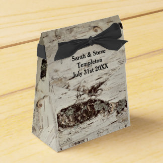 Birch Wood Wedding Gift Boxes Party Favour Boxes