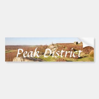 Birchen Edge, Derbyshire Peak District photo Bumper Sticker