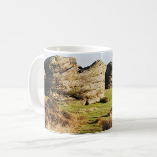 Birchen Edge, Peak District souvenir photo Coffee Mug