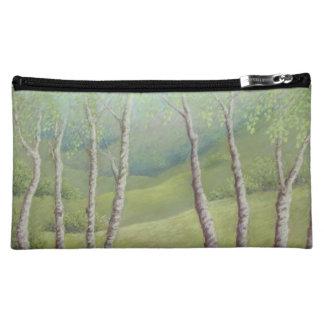 Birches in Spring, Walton Heath Cosmetic Bag