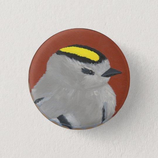 bird 1 3 cm round badge
