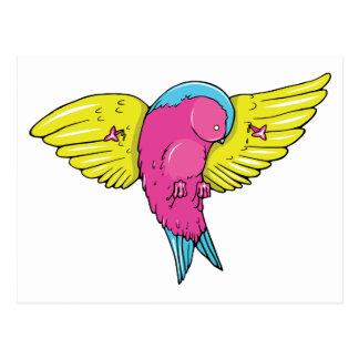 Bird 5 ~ Vintage Forties Tattoo Bird Art Post Card
