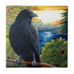 Bird 63 crow tile