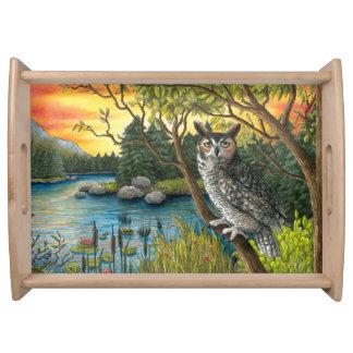 Bird 68 Owl Tray