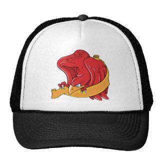 Bird 8 ~ Vintage Forties Tattoo Bird Art Trucker Hats