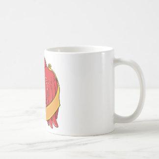 Bird 8 ~ Vintage Forties Tattoo Bird Art Coffee Mugs