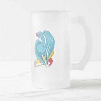 Bird 9 ~ Vintage Forties Tattoo Bird Art Coffee Mugs