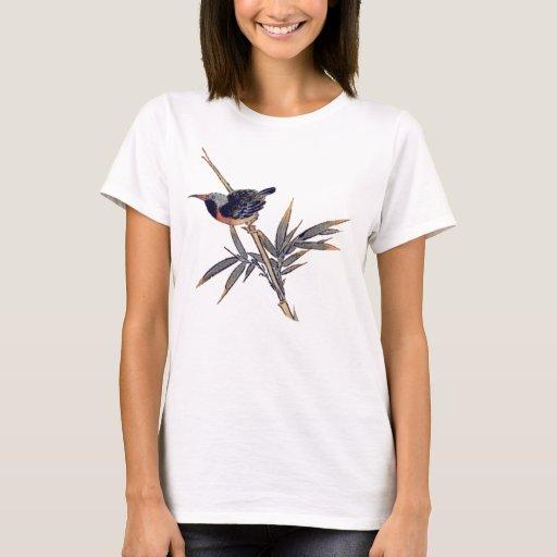 bird and bamboo 2 T-Shirt