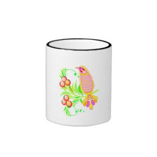 Bird And Berries Coffee Mug