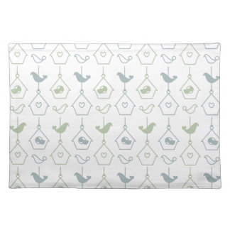 Bird and Bird Boxes American Mojo Placemats