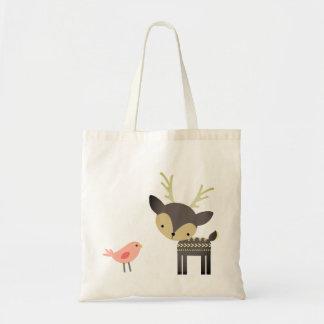 Bird And Deer Tote