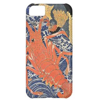 Bird and Lobster Japanese Woodblock Art Ukiyo-E iPhone 5C Cases