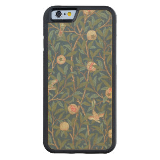 'Bird and Pomegranate' Wallpaper Design, printed b Carved Maple iPhone 6 Bumper Case