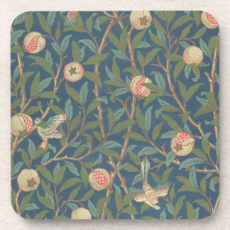 'Bird and Pomegranate' Wallpaper Design, printed b Drink Coasters
