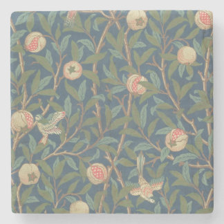 'Bird and Pomegranate' Wallpaper Design, printed b Stone Coaster