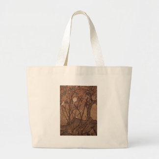 Bird and Tree painting by Chinesischer Maler Tote Bags
