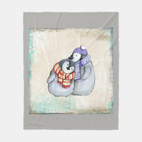 Bird Animal Couple Personalise Destiny Destiny'S Fleece Blanket