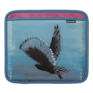 Bird Art Tawny Owl in Flight iPad Sleeve