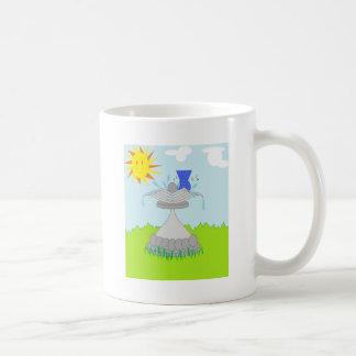 Bird Bath Basic White Mug