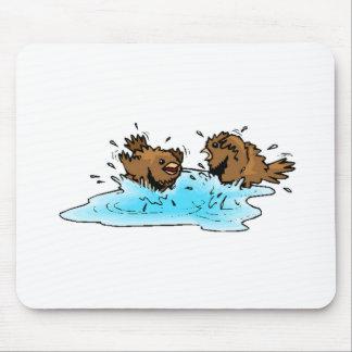 Bird Bath Mousepad