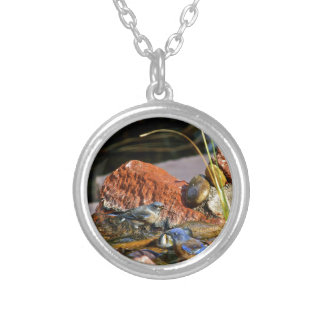 bird bath necklace