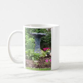 Bird Bath Scene Mug