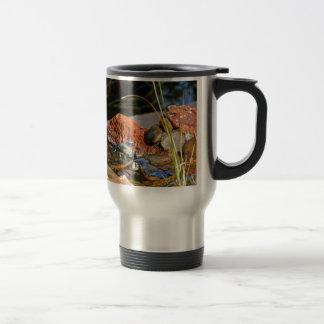 bird bath stainless steel travel mug