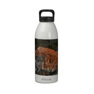 bird bath water bottle