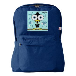 Bird(Black) Backpack, Navy Backpack