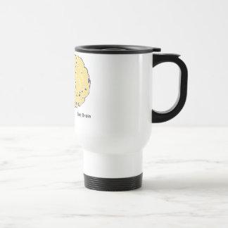 Bird Brain Stainless Steel Travel Mug