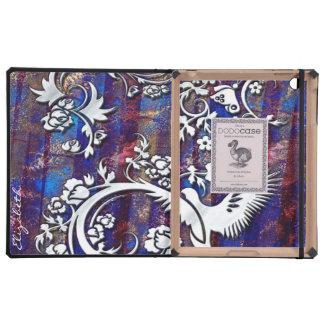 Bird & Butterfly 1 DODO iPad Folio Cases Cases For iPad