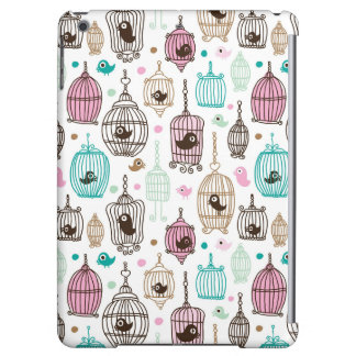 bird cage love kids background pattern cover for iPad air