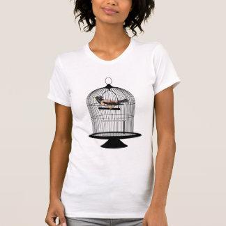 bird cage tshirt