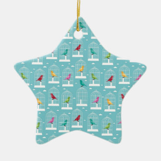 Bird Cages Christmas Ornament