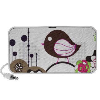 Bird Call Notebook Speakers