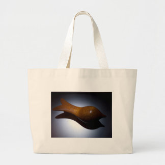 Bird Carving Canvas Bags