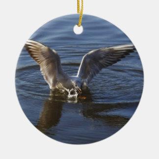 bird catch ornament