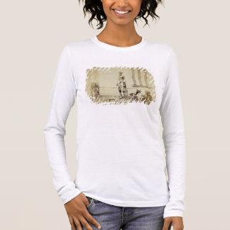 Bird-Catchers, Low Caste Hindus in Delhi, 19th cen Long Sleeve T-Shirt