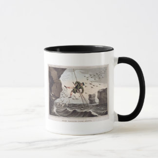 Bird Catching from Above, engraved by Matthew Dubo Mug