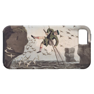 Bird Catching from Above, engraved by Matthew Dubo Tough iPhone 5 Case