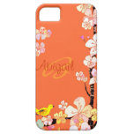 Bird & Cherry Blossom Floral iPhone 5 Case-Mate